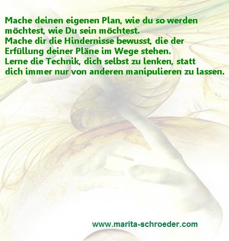 Dein eigener Plan
