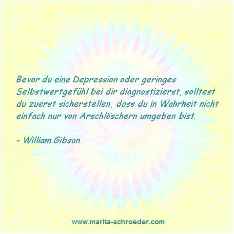 Depression + Selbstwertgefühl