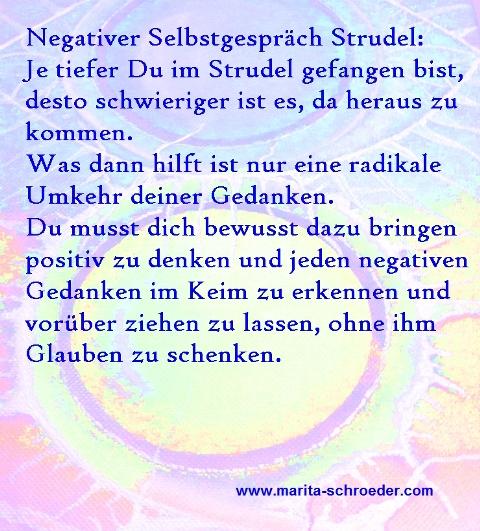 Negative Selbstgespräche