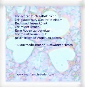 Schwarzer Hirsch